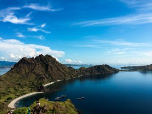 Beautiful island vacation destination